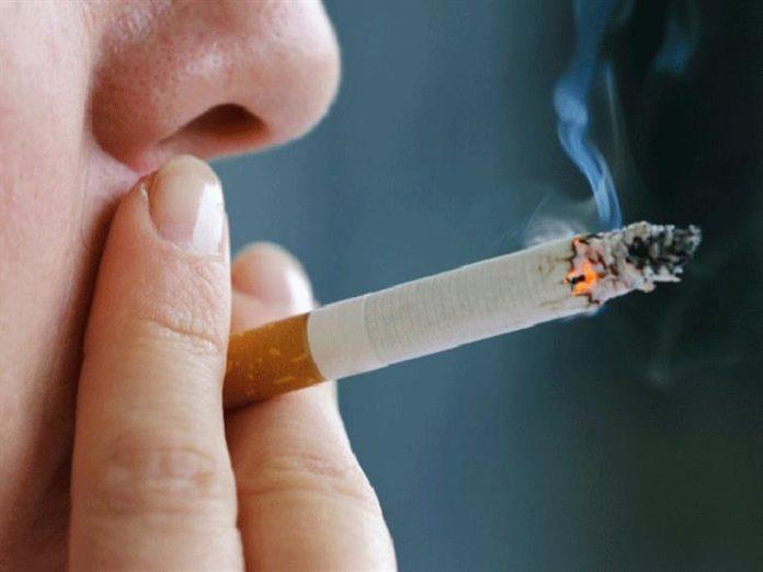 palenie tytoniu RNFL